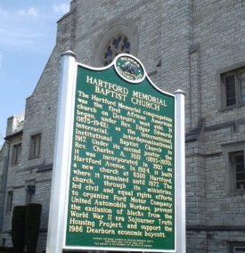 A History of Hartford Memorial Baptist Church