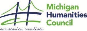 Michigan Humanities Council black white logo