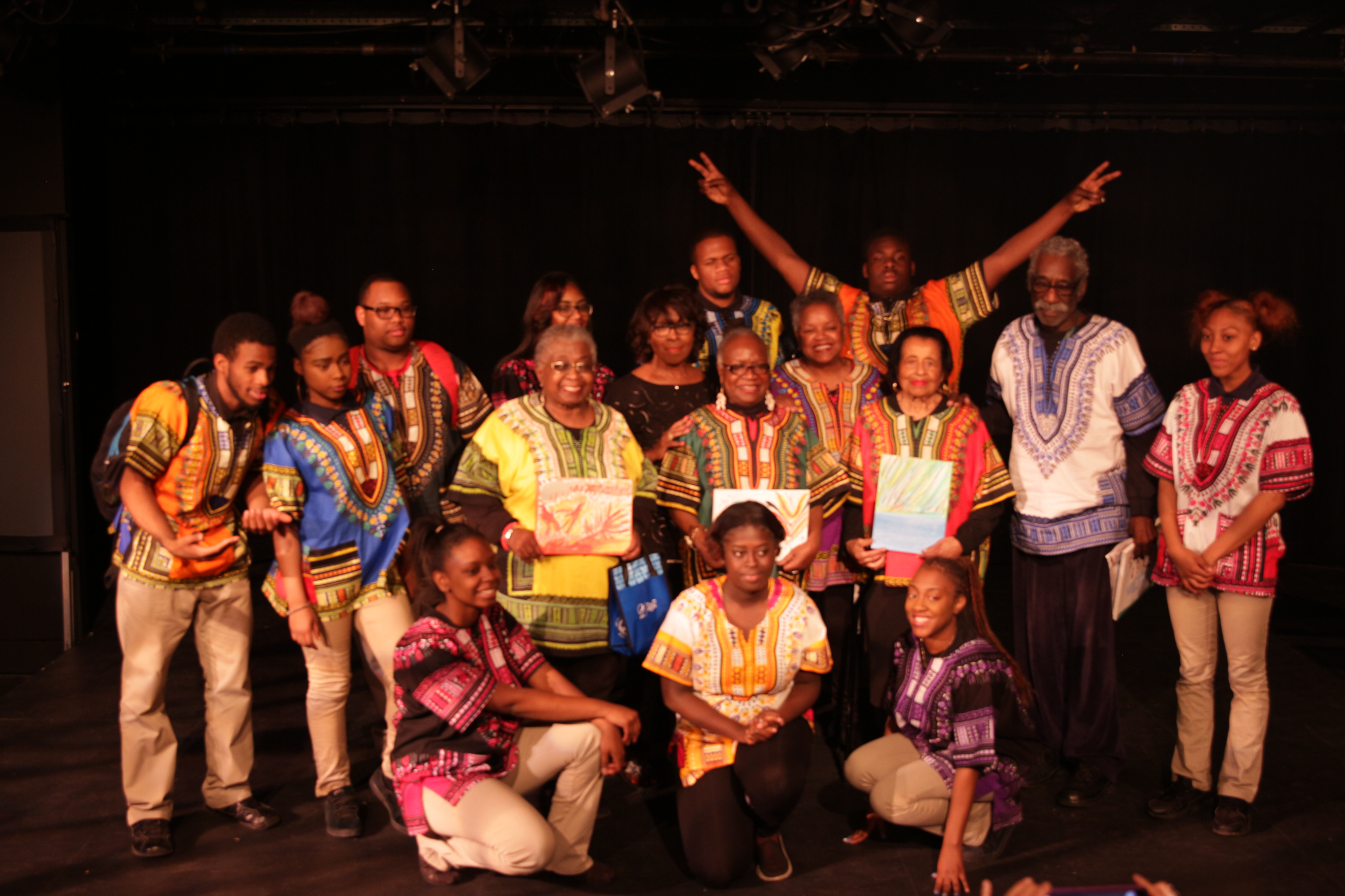 Billicia Hines - 16HG-021 Group pic of performance at Studio Theatre2