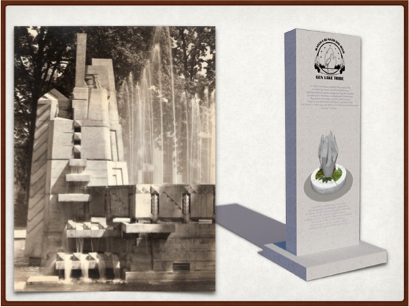 Fountain of the Pioneers Public Education Project