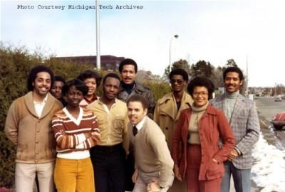 MTU African-American Student Group, 1981.