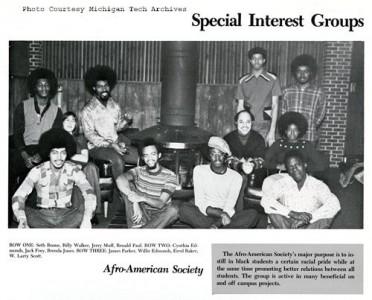 MTU Afro-American Society, 1973.