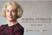 Martha Nussbaum Named the 2017 Jefferson Lecturer in the Humanities