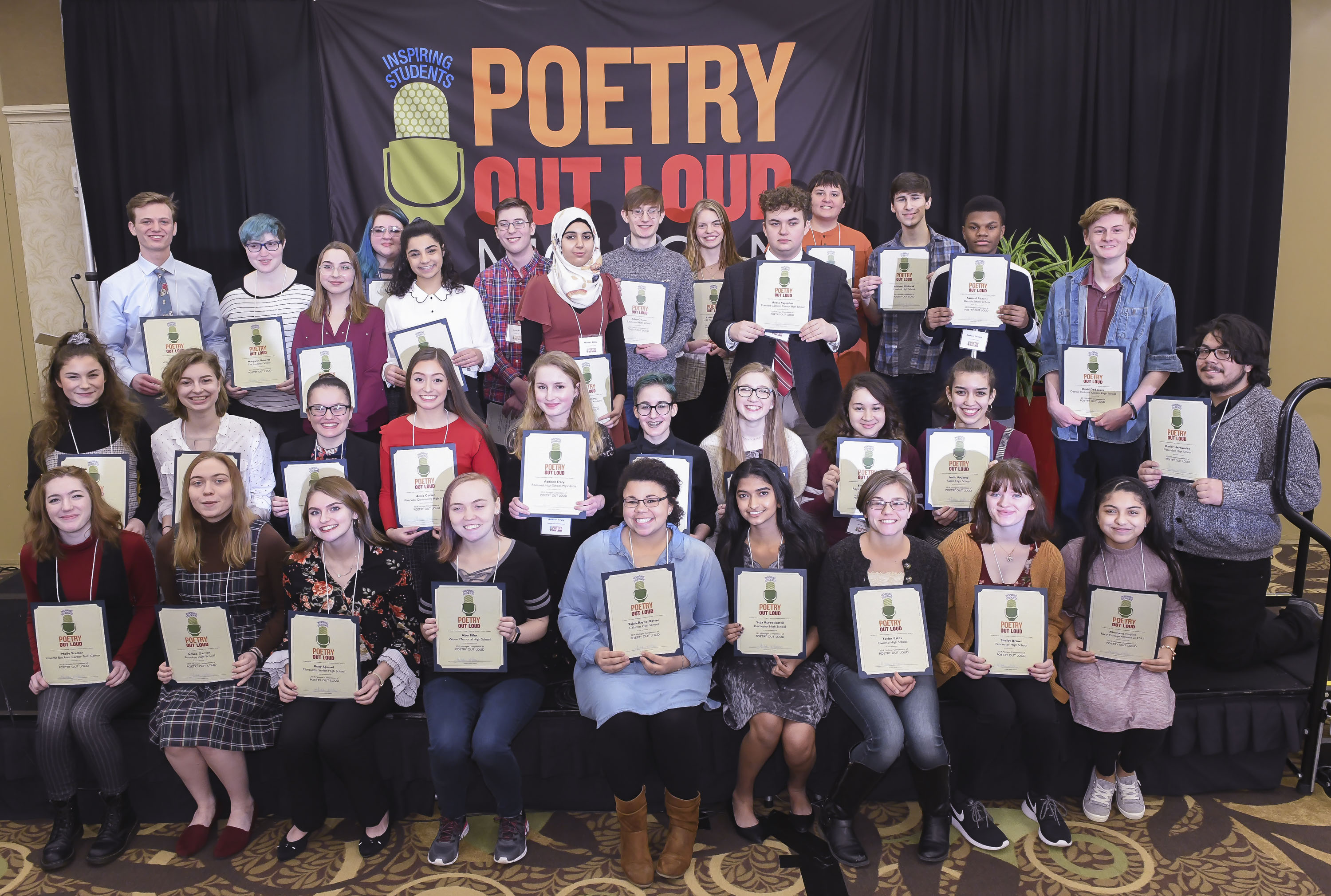 2019 Michigan Poetry Out Loud Champion | Michigan Humanities