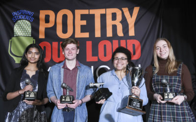 2019 Michigan Poetry Out Loud Champion