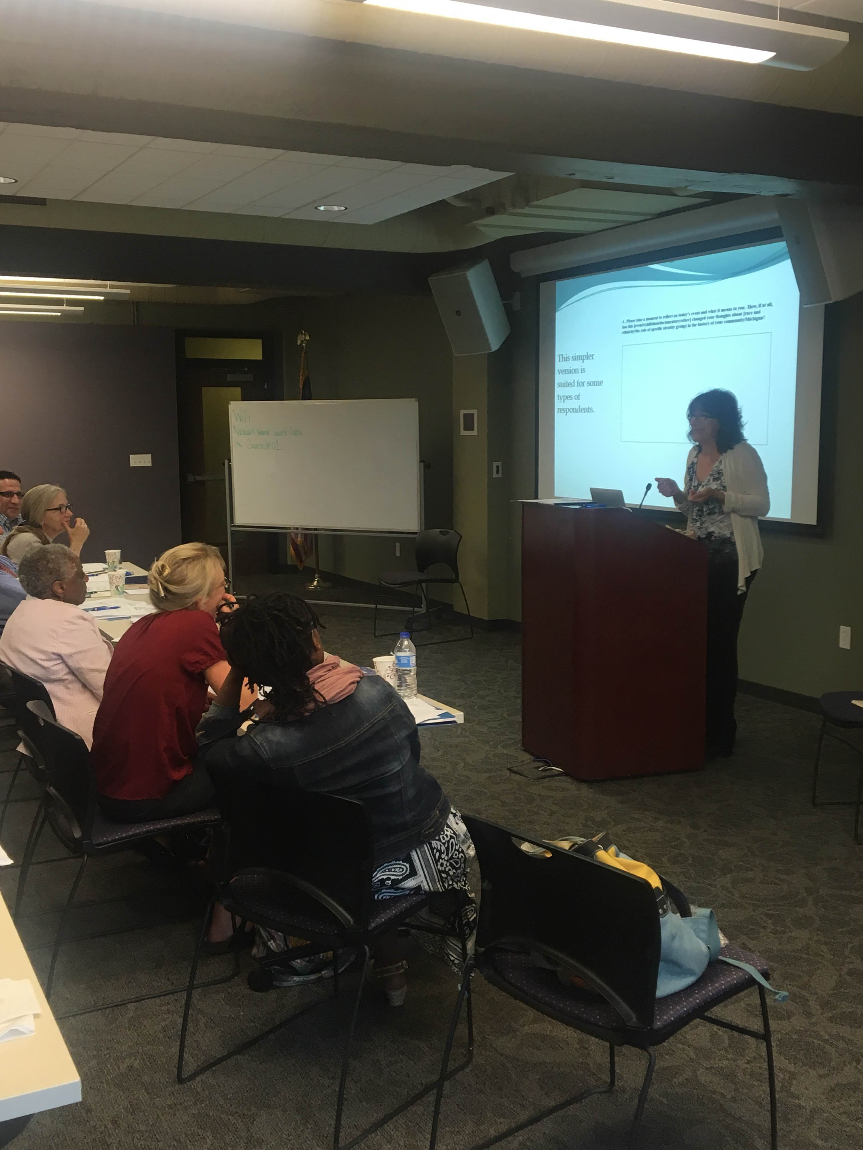 Heritage Grants Orientation, June 16, 2016