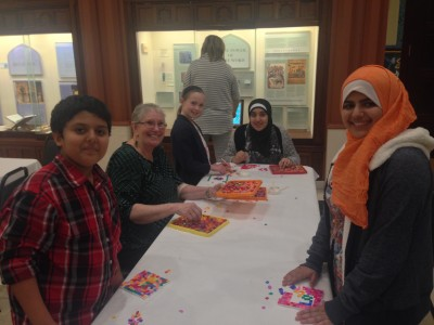 Participants in Tibbits' project had the opportunity to take a bus to Dearborn to visit the Arab American National Museum.